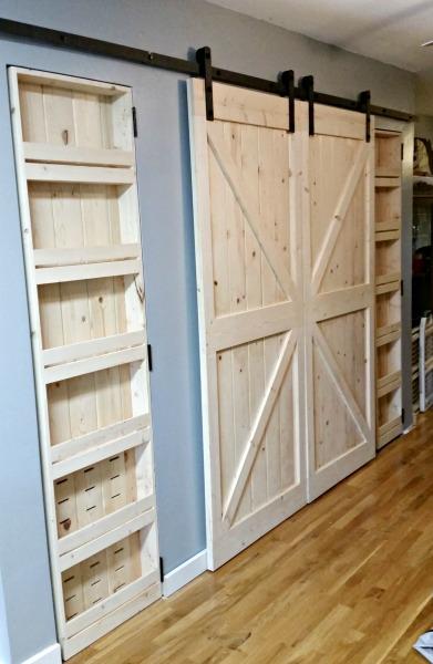 Pine Barn Doors
