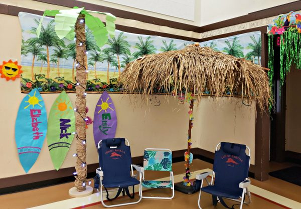 DIY Palm Trees