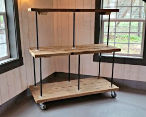 3-Tiered Rolling Cart