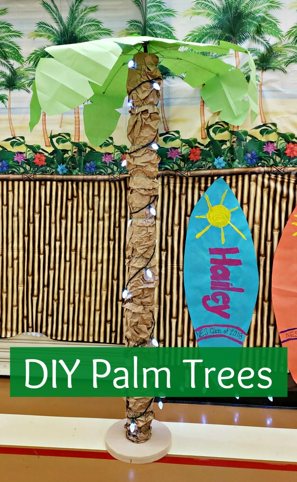 DIY Palm Trees